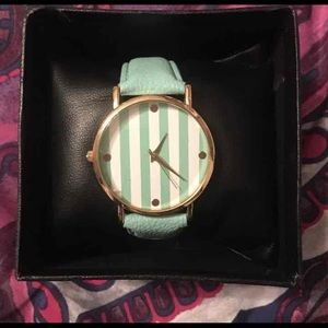 Charlotte Russe faux leather watch